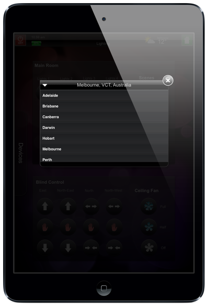 Weather Widget by Push Controls